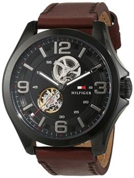 Tommy Hilfiger Herren-Armbanduhr Sophisticated Sport Analog Automatik Leder 1791280 -