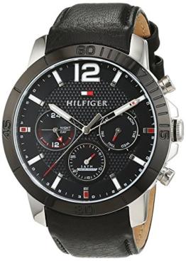 Tommy Hilfiger Herren-Armbanduhr Sophisticated Sport Analog Quarz Leder 1791268 -