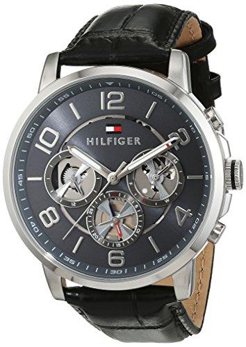 Tommy Hilfiger Herren-Armbanduhr Sophisticated Sport Analog Quarz Leder 1791289 -