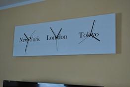 WELTZEITUHR WANDUHR WELTUHR NEW YORK LONDON TOKYO VINTAGE -