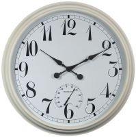 XXL Uhr weiß - 90cm -