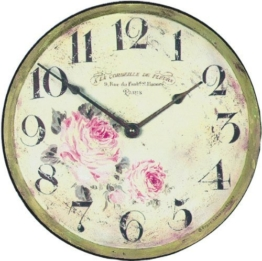 Florist Shop Wall Clock - 36cm by Lascelles London - 1