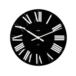 "14.17"" Firenze Wall Clock Color: Black by Alessi - 1"