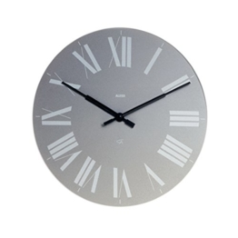 "14.17"" Firenze Wall Clock Color: Gray by Alessi - 1"
