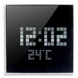 Orium 11947Picot Wanduhr LED Kunststoff/Abs/Glas Spiegel 24,5x 4,7x 24,5cm - 1