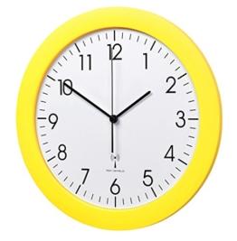 TFA-Dostmann Funk-Wanduhr TFA 60.3512.07 gelb mit Lautlos Sweep-Uhrwerk 300 mm Funkuhren - 1