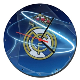 Real Madrid C.F. A Wanduhren Wall Clock 20cm - 1