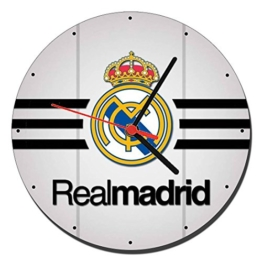 Real Madrid C.F. C Wanduhren Wall Clock 20cm - 1