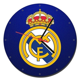 Real Madrid C.F. D Wanduhren Wall Clock 20cm - 1