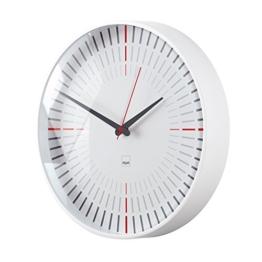 Sigel WU110 moderne, große Design Funk-Wanduhr, Modell cana, weiß,  Ø 36 cm, reddot design award 2014 Gewinner - 1