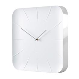 Sigel WU140 moderne, große Design-Wanduhr, Modell inu, weiß, 35x35 cm, reddot design award 2014 Gewinner - 1