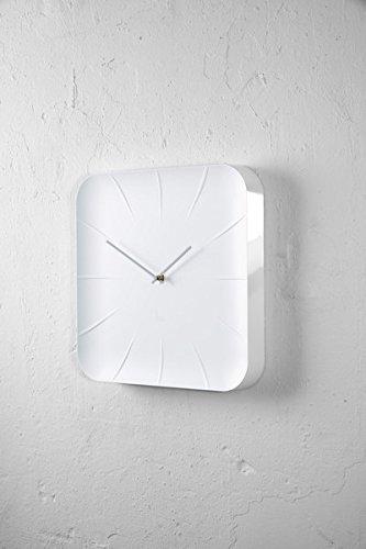 Sigel WU140 moderne, große Design-Wanduhr, Modell inu, weiß, 35x35 cm, reddot design award 2014 Gewinner - 7