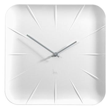 Sigel WU140 moderne, große Design-Wanduhr, Modell inu, weiß, 35x35 cm, reddot design award 2014 Gewinner - 8