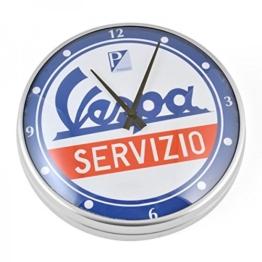"Wanduhr FORME VESPA, ""Vespa Servizio"", rund, Ø 320mm - 1"