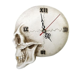 Alchemy Gothic TEMPORE Mortis Totenkopf Uhr - 1