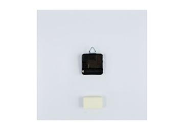 ARTTOR Wanduhr - Quadrat - Glasuhr - Breite: 30cm, Höhe: 30cm - Bildnummer 2695 - Schleichendes Uhrwerk - lautlos - zum Aufhängen bereit - Kunstdruck - C4AC30x30-2695 - 2