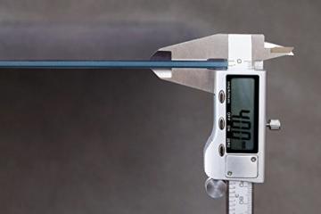 ARTTOR Wanduhr - Quadrat - Glasuhr - Breite: 30cm, Höhe: 30cm - Bildnummer 2695 - Schleichendes Uhrwerk - lautlos - zum Aufhängen bereit - Kunstdruck - C4AC30x30-2695 - 7
