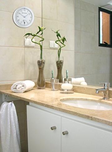 Bresser Baduhr MyTime Bath, weiß - 4