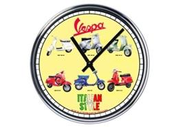 Capricci Italiani Wanduhr Mit Vespa (3° Version) - 1