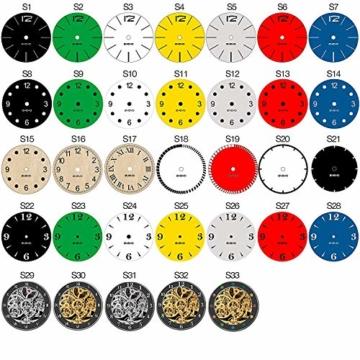 EVEVO Vespa Wanduhr Vinyl Schallplatte Retro-Uhr groß Uhren Style Raum Home Dekorationen Tolles Geschenk Wanduhr Vespa - 5