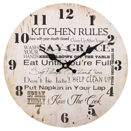 Kitchen Rules Uhr, 34 cm - 1
