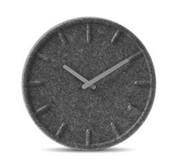 LEFF Amsterdam Felt Uhr, 35cm, Grau Uhr mit Grau Hände - 1