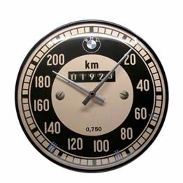Nostalgic-Art 51080 BMW - Tachometer, Wanduhr 31cm - 1