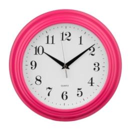 Premier Housewares 2200698 Vintage-Wanduhr, pink - 1