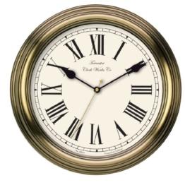 Towcester Clock Works Co. Acctim 26708 Redbourn Wanduhr, Gold - 1