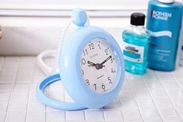 UPIT Wasserdichte Uhr mit Schnur, 12x 4x 14,5cm blau - 2