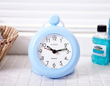 UPIT Wasserdichte Uhr mit Schnur, 12x 4x 14,5cm blau - 3