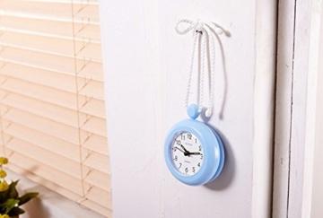 UPIT Wasserdichte Uhr mit Schnur, 12x 4x 14,5cm blau - 4
