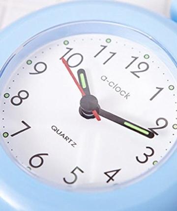 UPIT Wasserdichte Uhr mit Schnur, 12x 4x 14,5cm blau - 5