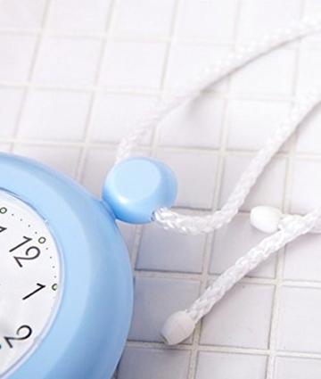 UPIT Wasserdichte Uhr mit Schnur, 12x 4x 14,5cm blau - 6