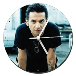 Depeche Mode David Gahan Wanduhren Wall Clock 20cm - 1