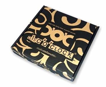 Disc'O'Clock Wanduhr aus Vinyl LP 33 Leise Imagine - Geschenkidee für Fan von John Lennon & Beatles - 4