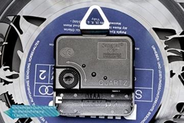 GRAVURZEILE The Beatles Wanduhr aus Vinyl Schallplattenuhr Upcycling Design-Uhr Wand-Deko Vintage-Uhr Wand-Dekoration Retro-Uhr Made in Germany - 4