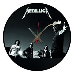 Iconic Metallica Vinyl Schallplatte Wanduhr - 1