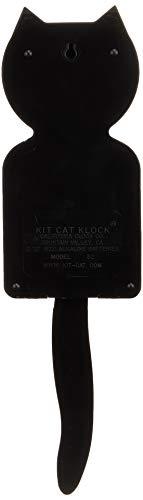 Kit-Cat-Wanduhr, schwarz - 2