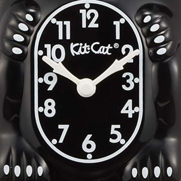 Kit-Cat-Wanduhr, schwarz - 6