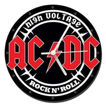 MasTazas AC/DC ACDC High Voltage Wanduhren Wall Clock 20cm - 1