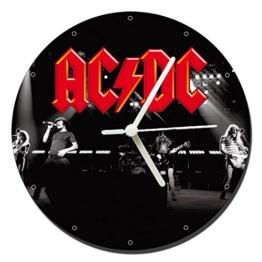 MasTazas ACDC AC/DC Band Wanduhren Wall Clock 20cm - 1