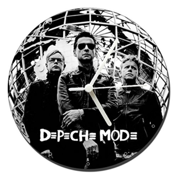 MasTazas Depeche Mode B Wanduhren Wall Clock 20cm - 1