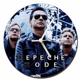 MasTazas Depeche Mode C Wanduhren Wall Clock 20cm - 1