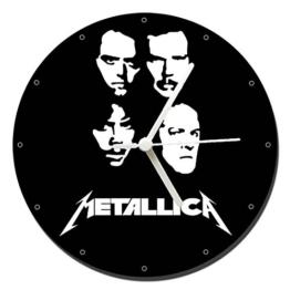 MasTazas Metallica B Wanduhren Wall Clock 20cm - 1