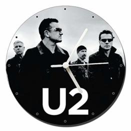 MasTazas U2 B Wanduhren Wall Clock 20cm - 1