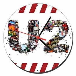 MasTazas U2 Wanduhren Wall Clock 20cm - 1