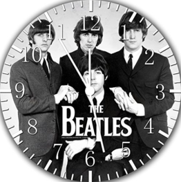 The Beatles Wanduhr 25,4 cm Nice Geschenk und Raum Wand Decor E174 - 1