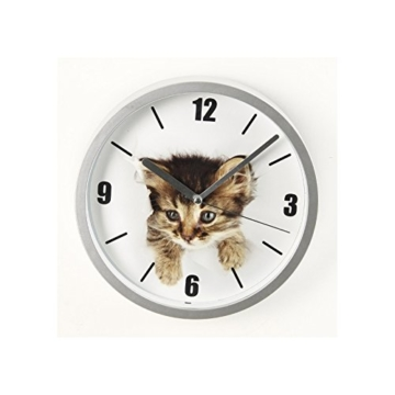 Wanduhr Katze Fun–D 22cm–Kätzchen - 1