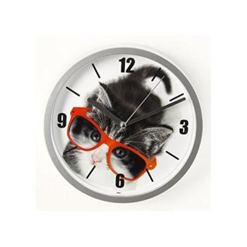 Wanduhr Katze Fun–D 22cm–Kätzchen - 3